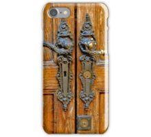 Antique Door Hardware Italy iPhone Case/Skin