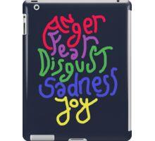 Anger, Fear, Disgust, Sadness, Joy! iPad Case/Skin