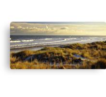 Mornington beach, Co Meath. Canvas Print