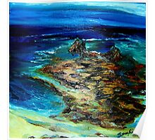 Pfeiffer Beach Tide Pool Poster