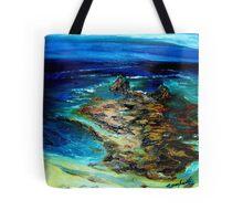 Pfeiffer Beach Tide Pool Tote Bag