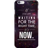 Galaxy Inspirational Quote iPhone Case/Skin