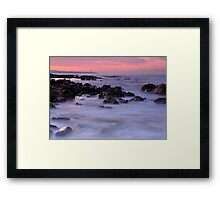 Blues And Pinks Framed Print