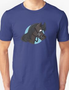 Horse head cartoon Unisex T-Shirt