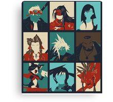 Final Fantasy VII - Characters Canvas Print