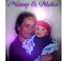 Mum & her grandson Photographic Print
