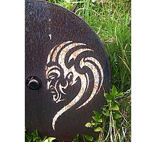 Maori Stencil Art Photographic Print