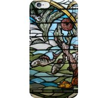 Stained Glass Art Nouveau Detail iPhone Case/Skin