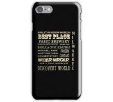 Milwaukee Wisconsin Famous Landmarks iPhone Case/Skin