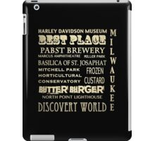 Milwaukee Wisconsin Famous Landmarks iPad Case/Skin