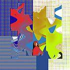Abstract World by Brenda Cheason