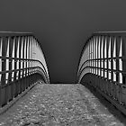 Footbridge at the Marina by edfcole