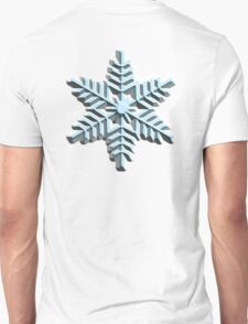 SNOWFLAKE, Cool, Snow, Snow crystals, Winter, Cold, Ice Crystal, Frozen, Freeze T-Shirt
