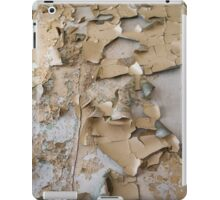 Pealing paint abstract iPad Case/Skin