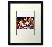 The Best Big 3 Framed Print