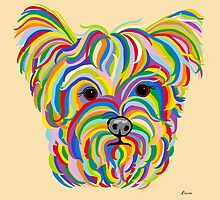 Yorkshire Terrier - YORKIE! by EloiseArt