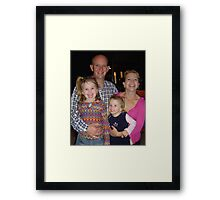 David's Family Framed Print