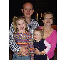 David's Family Photographic Print