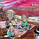 'The Picnic (Nuclear Family)' by Jerry Kirk