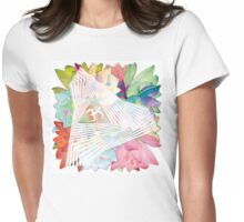 psychedelic trance Womens Fitted T-Shirt
