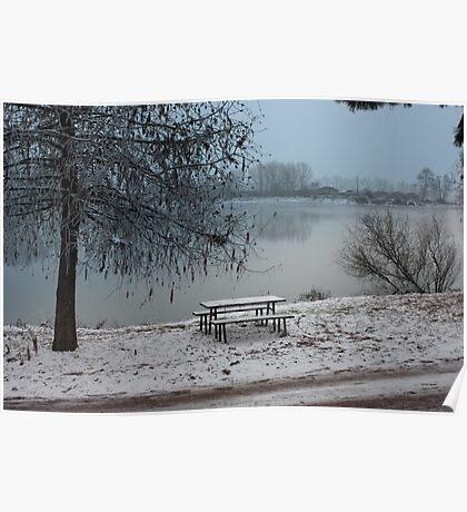 Winter pic nic Poster