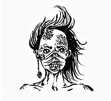 Mermaid Face Photographic Print
