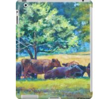 Cows Napping iPad Case/Skin