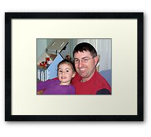 Eliza and Gary Framed Print