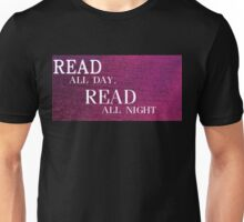 Read All Day Unisex T-Shirt