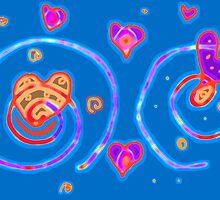 Red Hearts, Blue Hearts by Betty Mackey