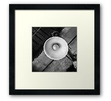 Old light Framed Print