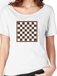 Checkers board Women's Relaxed Fit T-Shirt