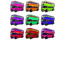 London buses by masterchef-fr