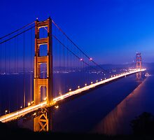Overlooking the Golden Gate by Justin Baer