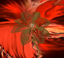 Flower Abstract 115-  Art + Products Design  by haya1812