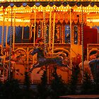 Fairground Carousel by Clickerpic