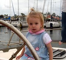Katie Sailing by Cheryl Parkes