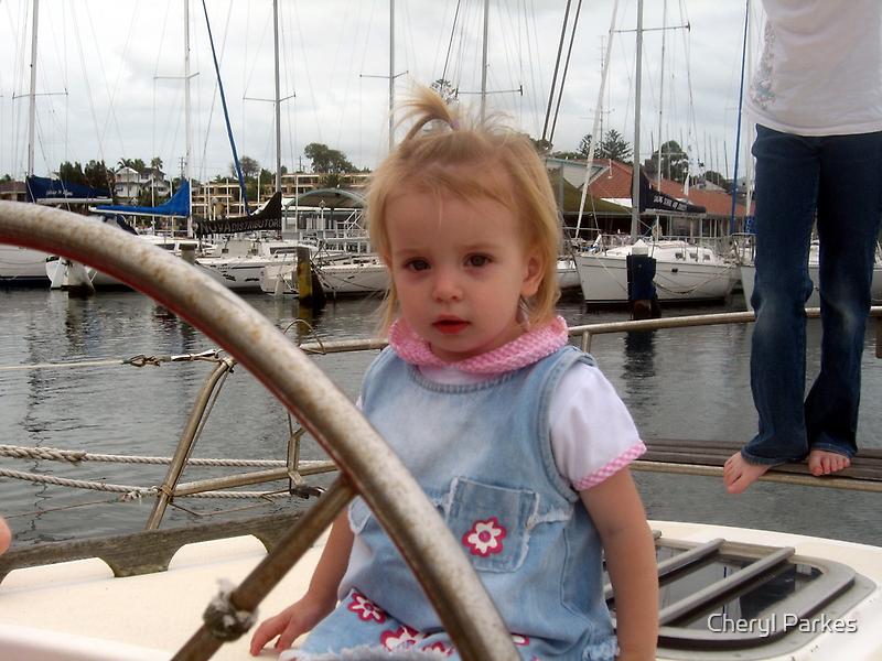 Katie Sailing by Cheryl Parkes