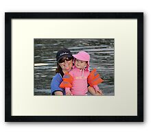 Bronte and Mummy Framed Print
