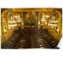 PA House of Representatives Room-Harrisburg, PA Poster