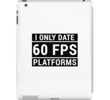 PC Master Race - 60 fps iPad Case/Skin