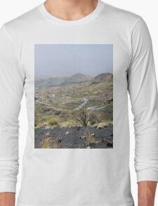 a desolate Cape Verde landscape Long Sleeve T-Shirt