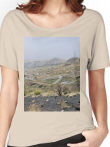 a desolate Cape Verde landscape Women's Relaxed Fit T-Shirt