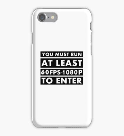 PC Master Race - Warning iPhone Case/Skin