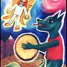 Shaman In The Overworld by Dee Sunshine