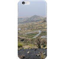 a desolate Cape Verde landscape iPhone Case/Skin
