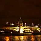 Thames At Night by Andrew S