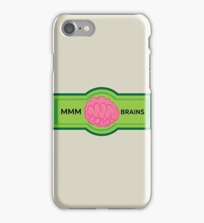MMM Brains iPhone Case/Skin