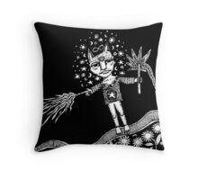 The Healer Throw Pillow