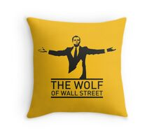 The Wolf of Wall Street - 'Wolfy' Throw Pillow